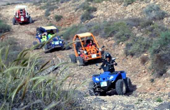 Excursión en Buggy Caleta de Fuste Fuerteventura