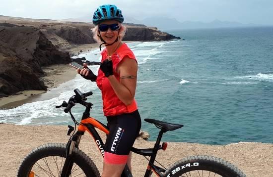 Excursión en E-Bike Costa Calma Fuerteventura 3 Horas