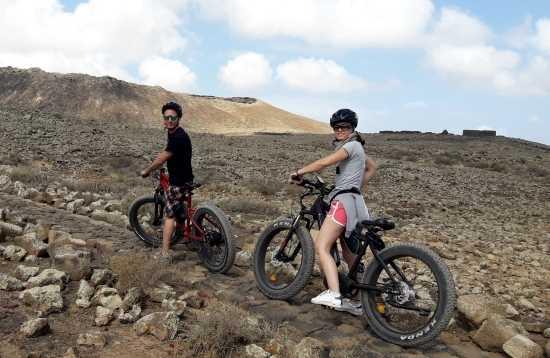 Excursión en E-Bike Corralejo Fuerteventura 3 horas