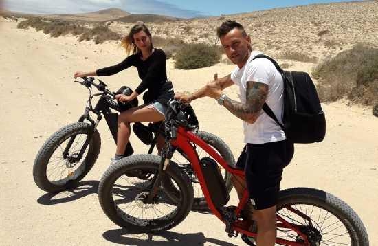 Excursión en E-Bike Corralejo Fuerteventura 5 Horas