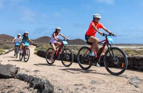Volcán E-bike Tour Fuerteventura 3 Horas