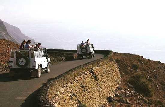 Jeep Safari Cotillo en el Norte de Fuerteventura