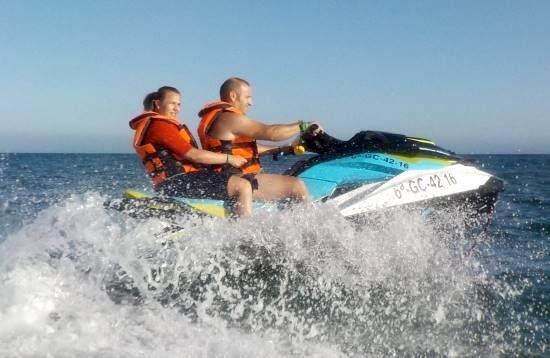 Excursión en Moto de Agua en Morro Jable Fuerteventura