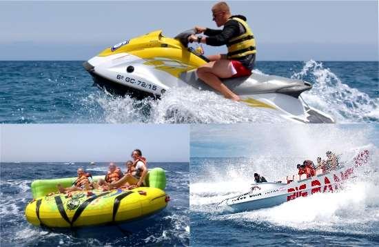 Actividades Acuaticas Combo Crazy Ufo Morro Jable Fuerteventura