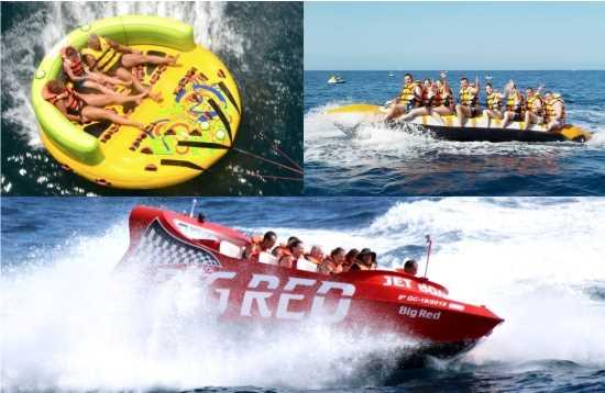 Actividades Acuaticas Combo Jet Boat Morro Jable Fuerteventura