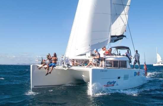 Gira en Catamarán Lobos Deluxe Fuerteventura