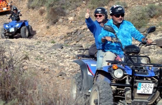 Excursión en Quad Caleta de Fuste Fuerteventura